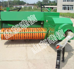 High Quality And Efficiency For Rectangular Pick Up Baler