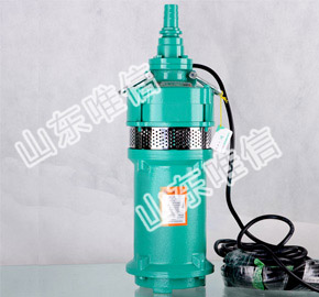 QS Series Agricultural Submersible Irrigation Pumps