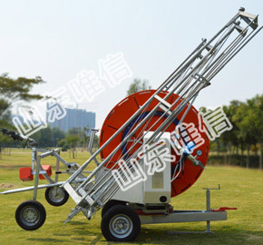 Automatic Sprinkler Irrigation Equipment With Support Truss