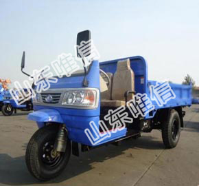 Three Wheels Diesel Agricultural Tricycle