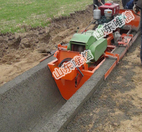 Concrete U-shaped Channel Concrete Lining Machine