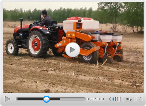 Patent Maize No-Tillage Planter