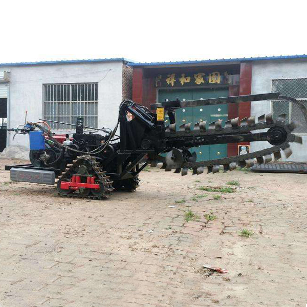 Mini Loader with Trencher