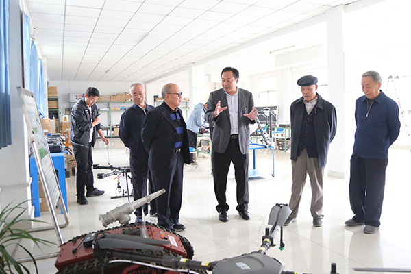 Warmly Welcome Jining Mining Industry Group Former Chairman Wang Yanlun And His Entourage To Visit Shandong Weixin