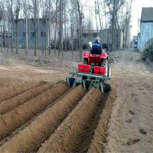Treatment Of Rainwater Ditch Of Ridging Film Mulching Machine
