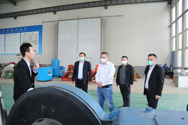 Warmly Welcome The Leaders Of Shandong Industrial Design Association To Visit Shandong Weixin For Guidance