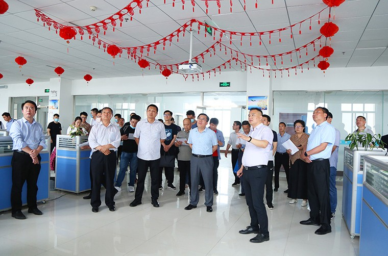 Warmly Welcome The Leaders Of Zibo Equipment Manufacturing Association To Visit Shandong Weixin
